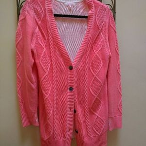 Urban Outfitters Sweaters - SALE! Neon pink cardigan