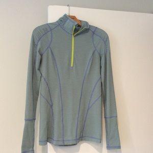 Zella zip up sports shirt