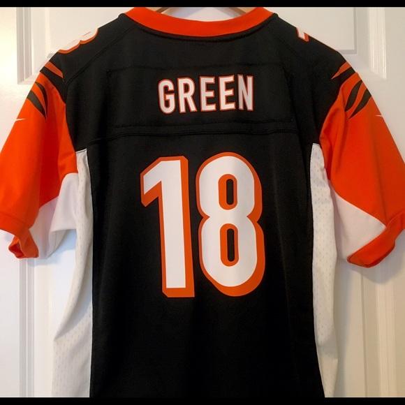 6d8557a75 AJ Green Cincinnati Bengals  18 Nike Jersey - XL. M 57f135dd13302aaa8709f37c