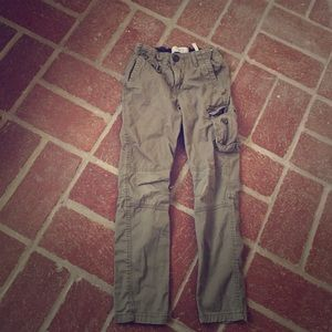 H&M Other - H&M Hunter Green Girls Fitted Cargo Pants