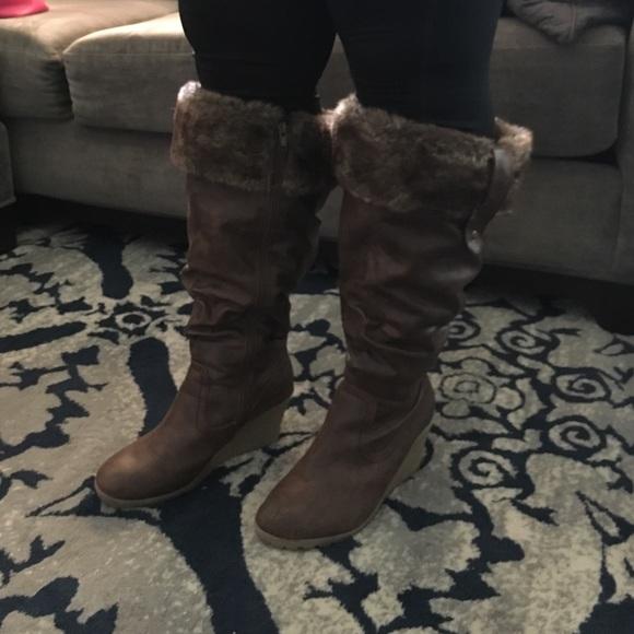 5b07c2ff9e0 Avenue Shoes - Plus Size Winter Boots