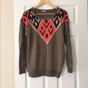 Urban Outfitters Ecote Tribal Print Sweater