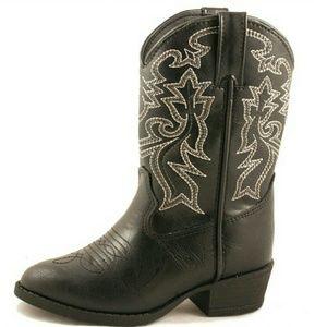 Laredo Other - Laredo Kids Black Cowboy Western Boots