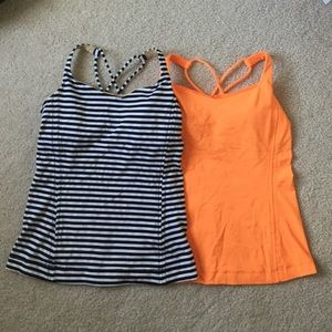 Lululemon Workout Tank Tops