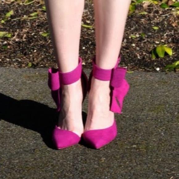 shoedazzle  Shoes - Bow heels