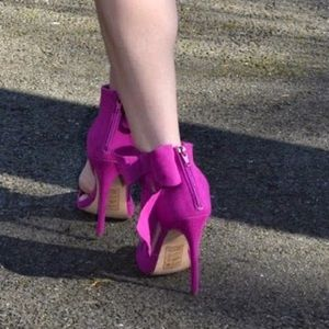 shoedazzle  Shoes - Bow heels