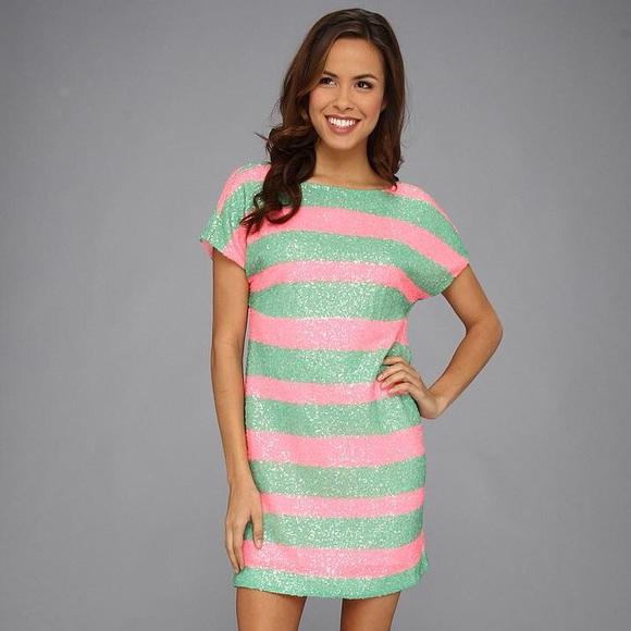 d00d4cb56e1 Lilly Pulitzer sequin Ames Dress. NWT