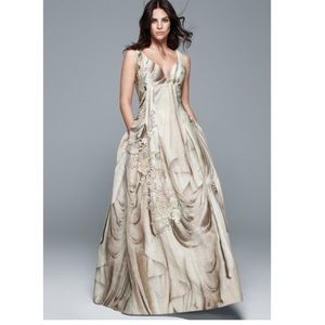 Dresses & Skirts - H&M conscious collection gown *prom*