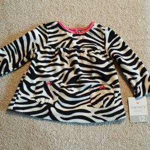 Carter's Other - Soft Zebra Fleece Sweater