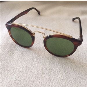 bc3ce93eba Ray-Ban Accessories - Rare vintage Ray ban round Gatsby sunglasses