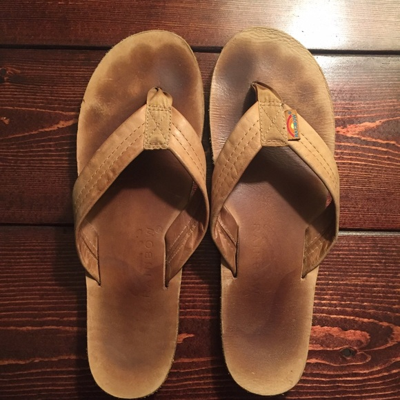 29a685d4dda1 Rainbow Sandals in Classic Tan leather. M 57f14cd8b4188e47b80a19ed
