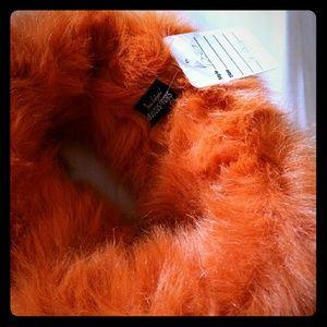 Fabulous Furs Accessories - FAUX FUR head cover!!