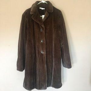 BRAND NEW Long Cabi Fur Coat