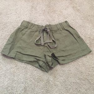 Forever 21 Dark green shorts
