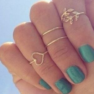 Set of Knuckle Rings