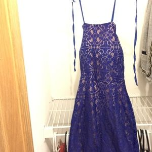 Dresses & Skirts - Blue corset dress