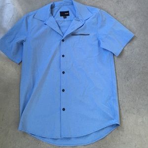 Hurley Tops - Men's Hurley blue button down
