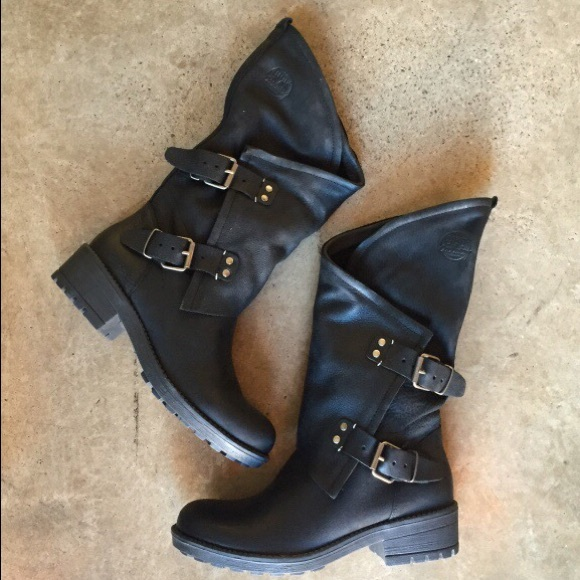 98d337b3072 Black Coolway Alida Boots size 9 NWT