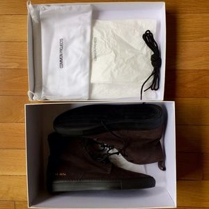 Common Projects Other - Common Projects Suede Boot