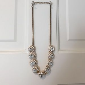 "Jewelry - 17"" necklace with rhinestones"