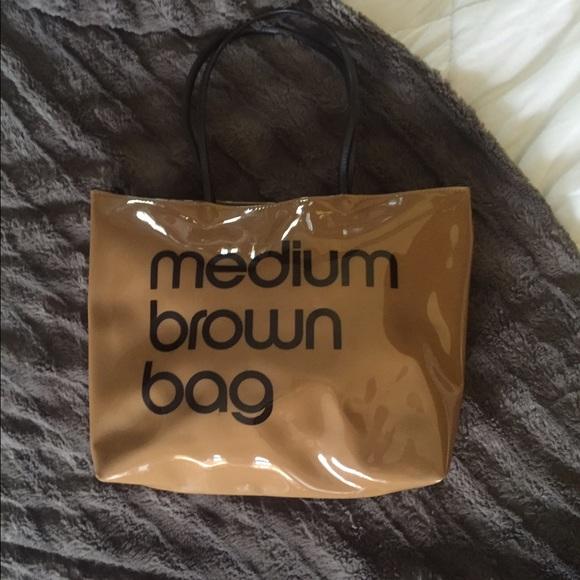 cc379dd3f1 Bloomingdale's Bags | Bloomingdales Medium Brown Bag Purse | Poshmark
