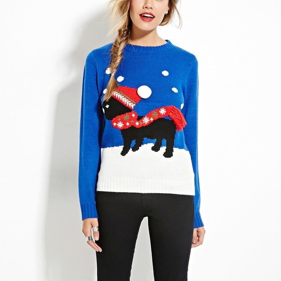 Forever 21 Sweaters Ugly Sweater Poshmark