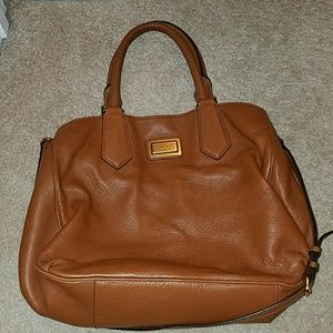 Marc by Marc Jacobs cognac leather purse