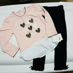 Petit Lem Other - Petite Lem toddler girl 2 piece set NWT 24 months
