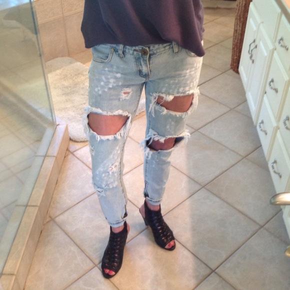 28d73a42720 M_57f16a3f5c12f84cfb0a709d. Other Jeans you may like. One Teaspoon  distressed jean. One Teaspoon distressed jean. $128 $158