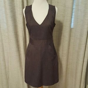 GAP Purple Tweed Shift Dress