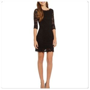 Jump Dresses & Skirts - NWT, Stunning Black Lace Sheath Dress!
