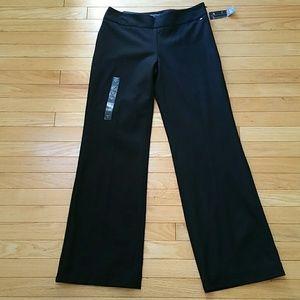 Banana Republic black martin fit pants