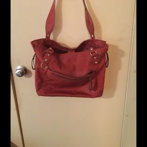 Handbags - Bag it is a red/brown similar to Cordovan