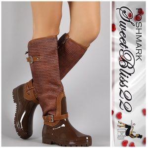 Shoes - 💄Cognac Rainboots💄