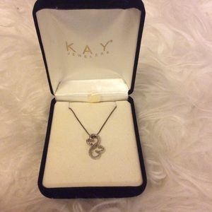 Kay Jewelers Jewelry - Kay Jewelers double open heart necklace