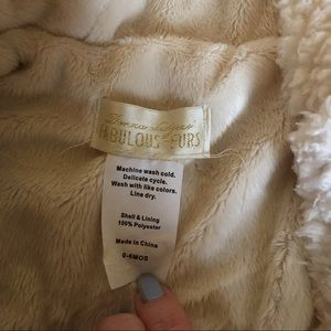Fabulous Furs Other - Donna Salgers Fabulous Furs Coat/baby bunting