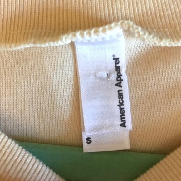 Velvet Sweater American Apparel 82
