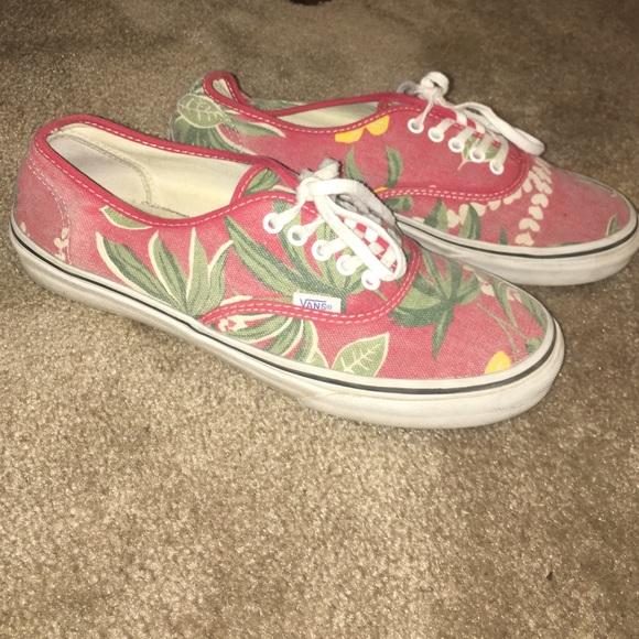 95dd235422 Hawaiian Print Van Doren Vans. M 57f17863f0137dd86f0018fb. Other Shoes ...