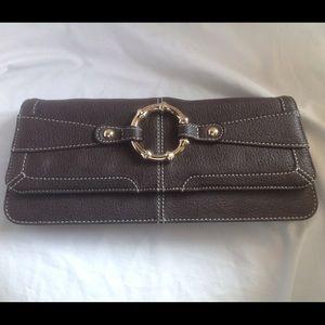 LOFT Handbags - 1 DAY SALE Ann Taylor LOFT leather clutch