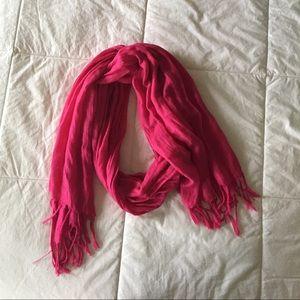 Lightweight Pink Scarf