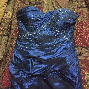 Dresses & Skirts - Navy Blue Corset Dress