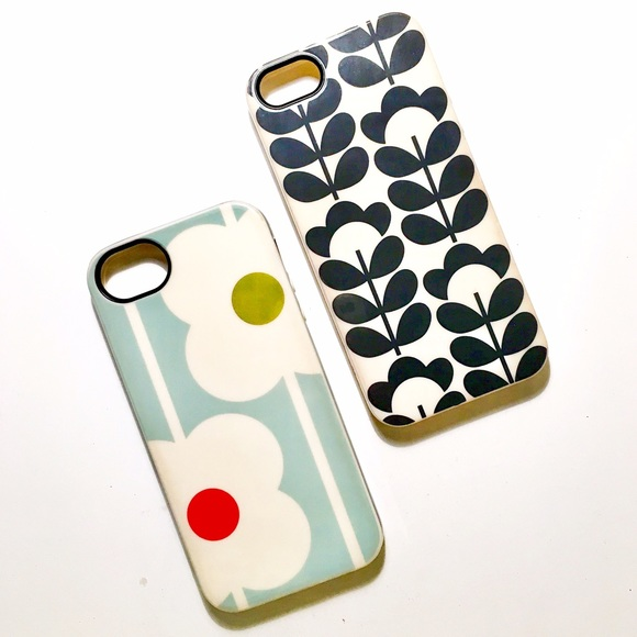 the latest 63902 f28fc Orla Kiely iPhone 5 / 5s / SE Case Bundle