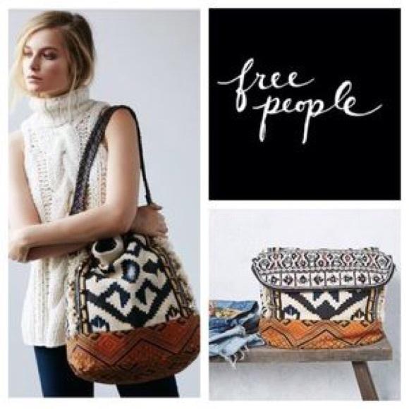 797b293579 Free People Handbags - ✨Indian summer hobo large tote bag
