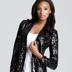 coupe collection Jackets & Blazers - Black sequin blazer