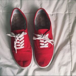 Mossimo Supply Co. Shoes - Red Keds Style Shoes