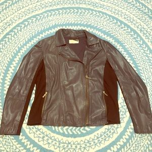 Michael Kors Jackets & Blazers - Michael Kors Leather Jacket