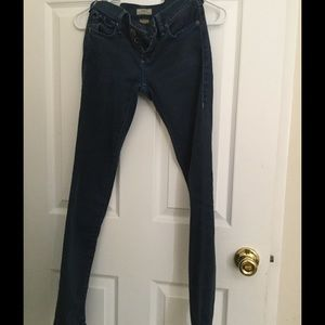 True Religion Jeans. Casey low rise super skinny