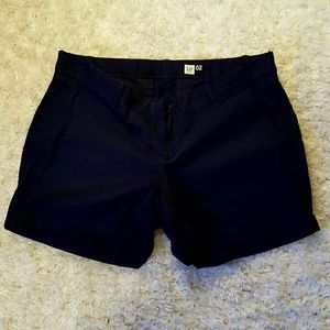 GAP Maternity Navy Chino Shorts