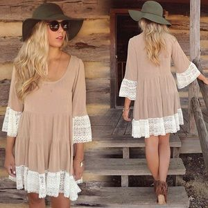 Boho Loose Lace Dress🌙