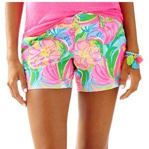 """NWT Lilly Pulitzer 5"""" Callahan Shorts - Size 6"""